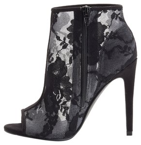 Shoemint Lace Bootie Lace Black Boots