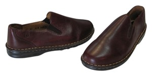 Børn New Leather Size 10.00 M Excellent Condition Brown Flats