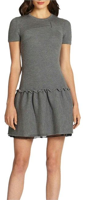 Preload https://item5.tradesy.com/images/red-valentino-gray-above-knee-cocktail-dress-size-8-m-1484889-0-1.jpg?width=400&height=650