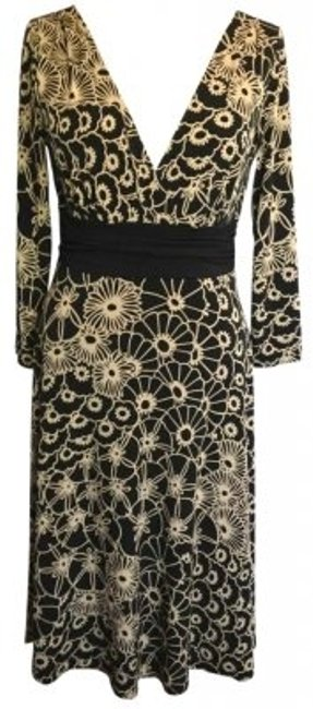 Preload https://item1.tradesy.com/images/maggy-london-black-and-beige-stretch-floral-mid-length-casual-maxi-dress-size-10-m-148490-0-0.jpg?width=400&height=650