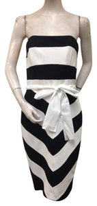Nue by Shani short dress Black White on Tradesy