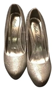 Bella Luna Bling Silver Pumps