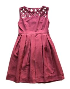 Dear Creatures short dress Red Modcloth Vintage on Tradesy