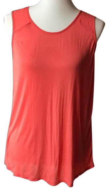 Preload https://item4.tradesy.com/images/halogen-coral-tank-topcami-size-6-s-14850223-0-3.jpg?width=400&height=650