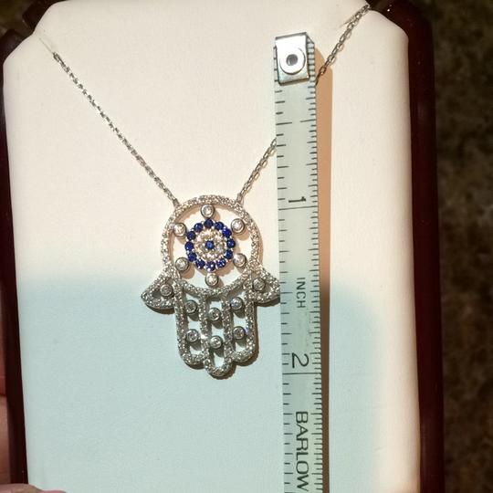 9.2.5 Sterling Silver Hamsa Necklace