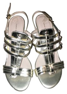 Tommy Hilfiger Wedge Sandal Gladiator Gold Wedges
