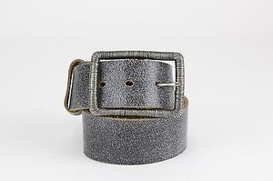 Daytrip Daytrip 29.5-33.5 Pewter Heathered Charcoal Leather Belt B316