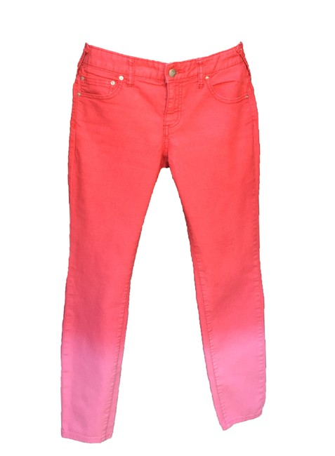 Free People Ombre Skinny Jeans-Distressed