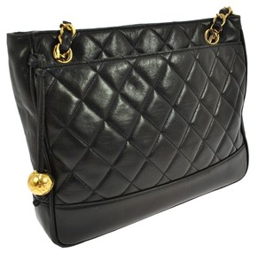 Chanel Charm Quilted Shoulder Bag