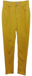 Escada Sport Yellow Skinny Pants