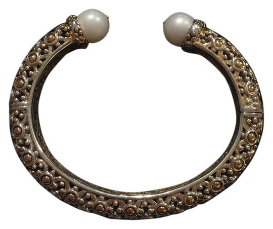 John Hardy Jaisalmar Dot Hinged Bangle Bracelet