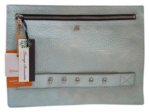 Punchcase by Leslie Hsa Baby Blue Clutch