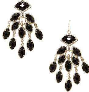 Kendra Scott Kendra Scott 14k gold plate chandelier earrings