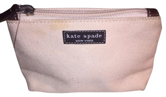 Preload https://img-static.tradesy.com/item/14851627/kate-spade-canvas-twill-zip-top-purse-insert-cosmetic-bag-0-1-540-540.jpg