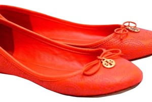 Tory Burch Tiger Lilly Flats