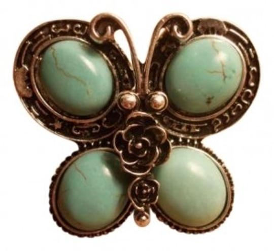Preload https://img-static.tradesy.com/item/148519/turquoise-new-silver-butterfly-adjustable-sizing-ring-0-0-540-540.jpg
