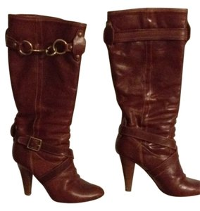 Coach Whiskey Boots
