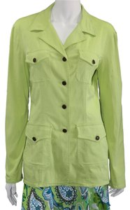 Moschino Denim Green Womens Jean Jacket