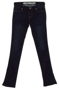 Express Wash Casual Everyday Stretch Straight Leg Jeans-Dark Rinse