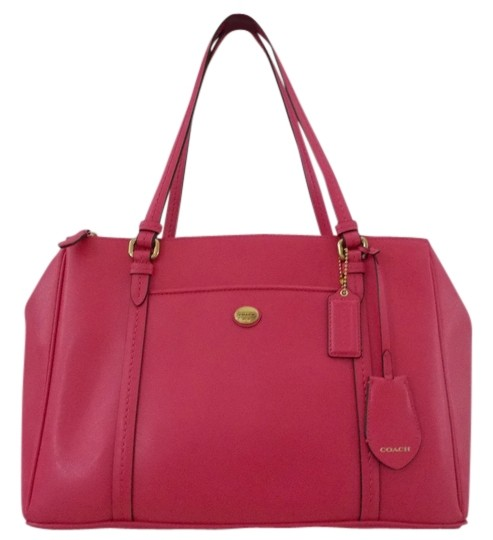 Preload https://img-static.tradesy.com/item/1485227/coach-peyton-double-zip-bright-pink-saffiano-leather-shoulder-bag-0-0-540-540.jpg