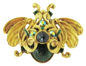 Jose & Maria Barrera JOSE MARIA BARRERA Crystal Bug Brooch, Pin