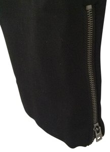 J.Crew Wool Minnie Ankle Zip Skinny Pants Black