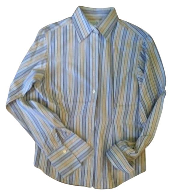 Thomas Pink London Button Down Shirt multi stripe