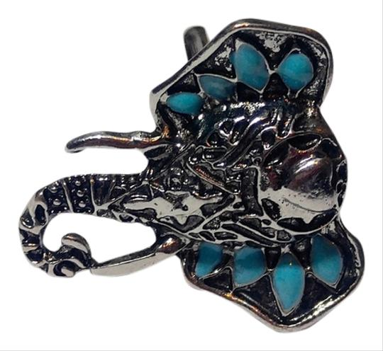 Preload https://item4.tradesy.com/images/turquoise-silver-tone-elephant-statement-adjustable-size-j2436-ring-14853478-0-2.jpg?width=440&height=440