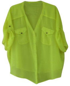 SuperTrash Top Neon Lime