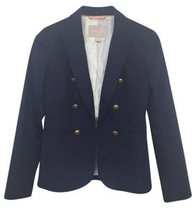 Banana Republic Work City Button Navy Blazer