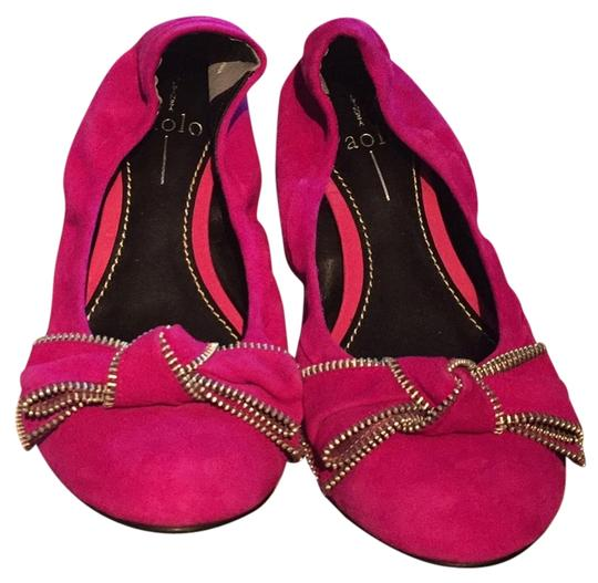 Preload https://item4.tradesy.com/images/paolo-fuschia-suede-flats-size-us-8-regular-m-b-14854828-0-1.jpg?width=440&height=440