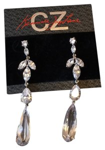 Kenneth Jay Lane Marquee Crystal Drop Earrings