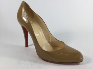 Christian Louboutin Dorissima Dark Tan Pumps