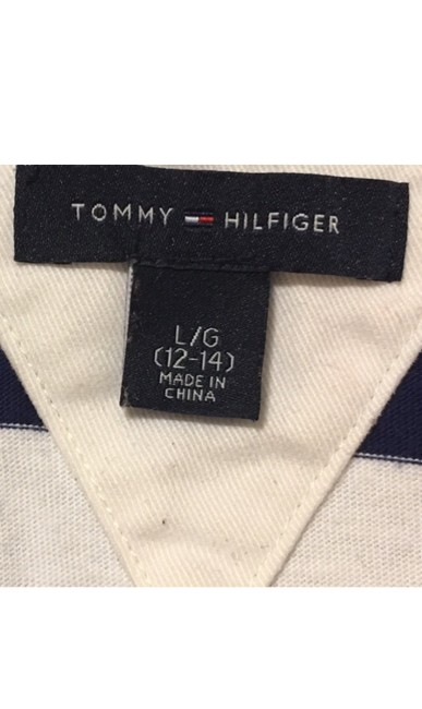 Tommy Hilfiger T Shirt White blue