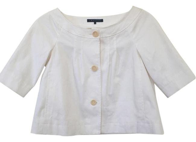 Preload https://item2.tradesy.com/images/theory-white-spring-jacket-size-petite-2-xs-14855866-0-1.jpg?width=400&height=650
