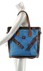Proenza Schouler Tote in Blue & Brown