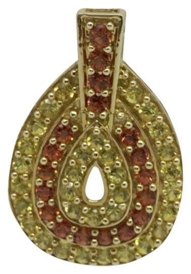 Preload https://item4.tradesy.com/images/10k-yellow-gold-color-cz-pendant-charm-14855968-0-1.jpg?width=440&height=440