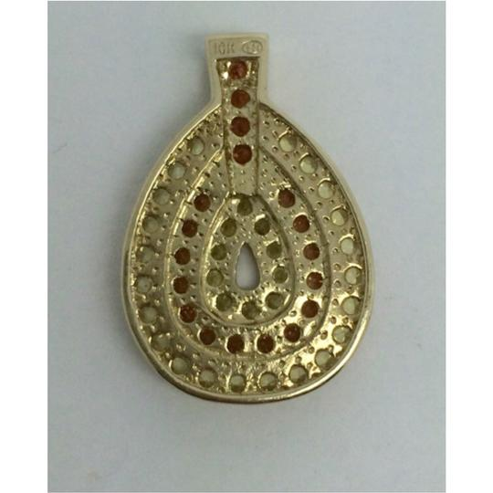 Other 10K Yellow Gold Color CZ Pendant