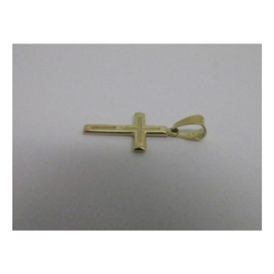 Other 14K Yellow Gold Reversible Solid Cross Pendant