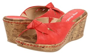 Easy Street Red Sandals
