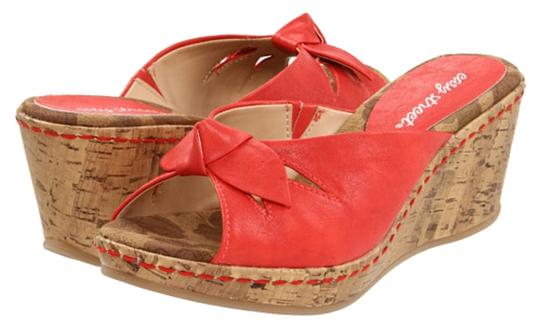 Preload https://img-static.tradesy.com/item/14856211/easy-street-red-fling-bow-sandals-size-us-9-regular-m-b-0-1-540-540.jpg
