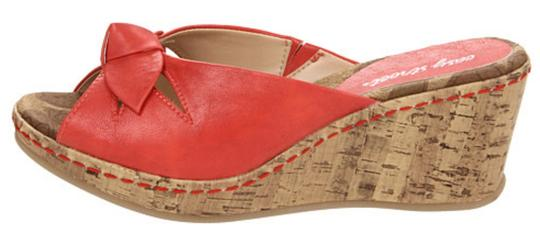 Easy Street Slingback Women Red Sandals