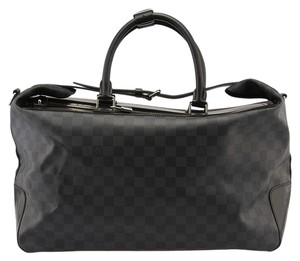 Louis Vuitton Grimaud Damier Graphite Coated Canvas Travel Black,Grey Travel Bag
