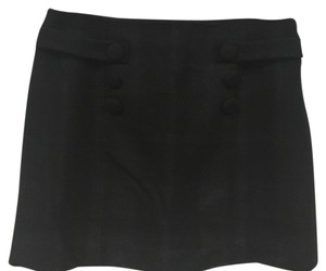 J.Crew Mini Skirt Black, gray