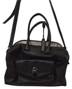 Via Spiga Satche Leather Satchel in Black