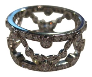 Tiffany & Co. Vintage Tiffany & Co. Platinum Diamond Eternity Wedding Band Ring