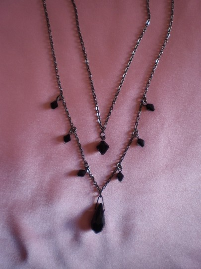 Preload https://item3.tradesy.com/images/black-like-new-beaded-double-strand-necklace-148567-0-0.jpg?width=440&height=440