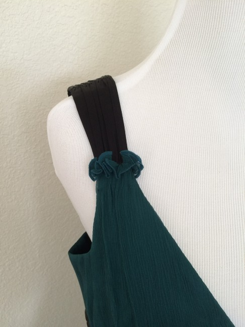 Laundry by Shelli Segal short dress Teal Silk on Tradesy
