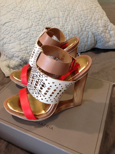 BCBGMAXAZRIA Multicolor Wedges