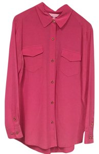 Lilly Pulitzer Button Down Shirt Pink